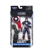 Marvel 6-In Legends Series Secret War Captain America - $24.49