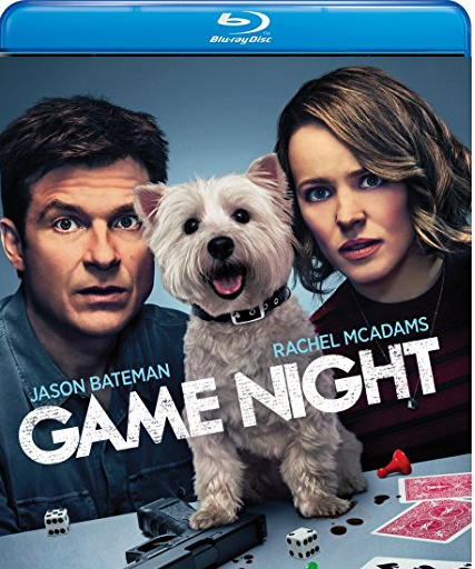 Game Night [Blu-ray, 2018]