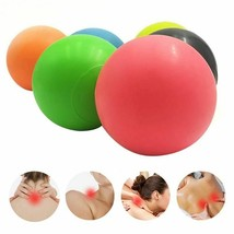 Rubber Massage Lacrosse Ball Gym Home Exercise Trigger Point Workout Tra... - $8.19+
