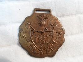 Vintage KP Knights of Pythias FCB Holy Bible WATCH FOB Lilley Co Columbu... - $19.80