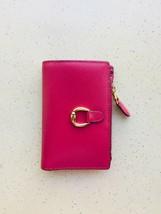 LAUREN RALPH LAUREN Bennington Raspberry Compact Wallet NEW - $54.45