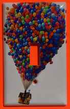 Up Flying Balloon house Light Switch Outlet duplex wall Cover Plate Home Decor