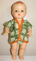 "Vintage Boy Yes No Answer Doll Toddler 12"" - $29.69"