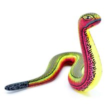 Alebrijes Oaxacan Copal Wood Carving Hand Carved Painted Folk Art Snake Figurine image 4