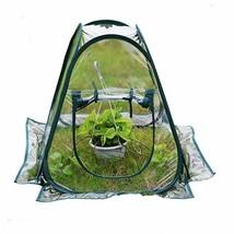 Pvc Fordable Warm Garden Covers Waterproof Uv Garden Plants Flower Green... - $43.51