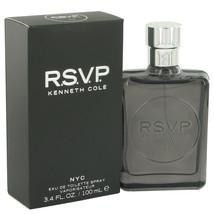 Kenneth Cole Rsvp Eau De Toilette Spray (new Packaging) 3.4 Oz For Men  - $28.05