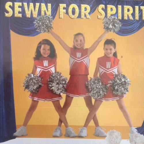 Simplicity Sewing Pattern 4040 Girls Child Cheerleader Costumes Size 8-12 New