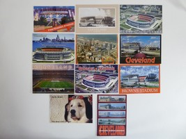 Lot of 11 Cleveland Browns NFL Football Postcards Photos Stadium - $31.14
