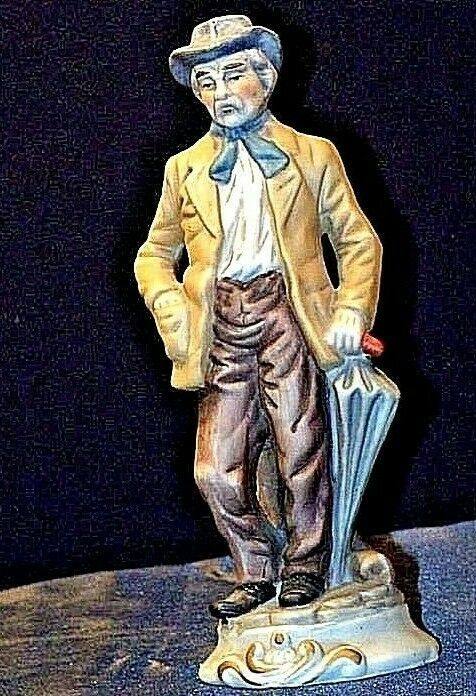 Old Gentleman Figurine  AA18-1330 Vintage