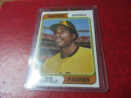 1974 Topps 456 - Dave Winfield RC - Padres - $28.99