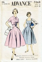 Vintage 1940's ADVANCE Pattern 7068 Misses' Dress or Jumper & Jacket - S... - $18.00
