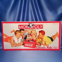 Coca-Cola Classic Ads Collector's Edition Monopoly by USAopoly - $75.00