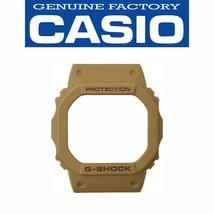 Genuine Casio G-SHOCK Watch Bezel Shell DW-5600LU-8 Tan Rubber Cover - $25.95