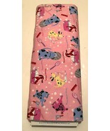 Vintage Marcus Brothers Flannel Pink Dog Bubble R65 2379 126W 15 Yards Bolt New - $98.01