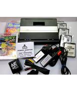 Atari 7800 Refurbished Upgraded OS NTSC   PAL MODs AV   LED   Heat Sink ... - $475.00