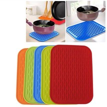 Dish Mat Silicone Sink Non Slip Heat Resistant Rectangle Shape Kitchen A... - $5.99