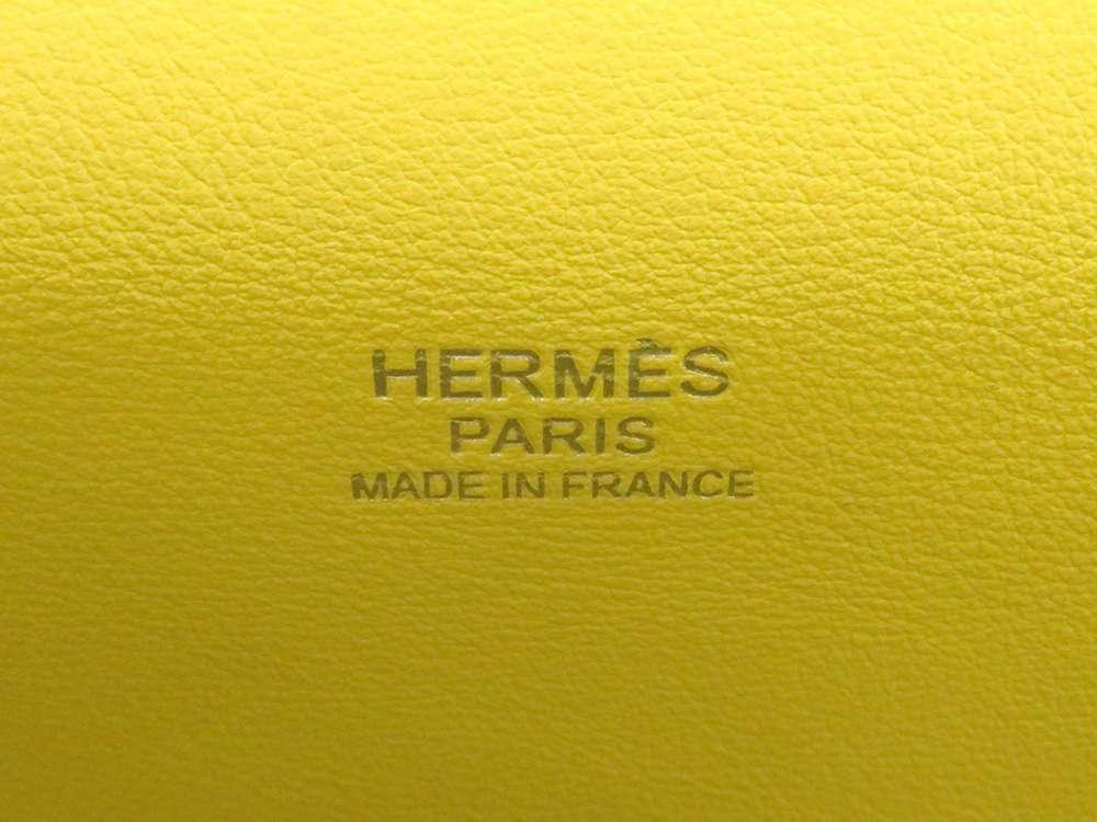 HERMES Toolbox 26 Veau Swift Soufre Handbag Shoulder Bag France #Q Authentic image 11