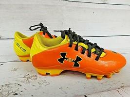 Under Armour Blur Flash III Youth Soccer Cleats UA 1235636-863 Orange Si... - $19.90