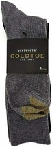 Gold Toe Men's Wentwoth Dress Crew Socks, 4 Pairs Shoe Size 6-12.5 - $2,573.01