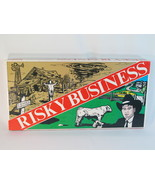 Risky Business Board Game 1986 Laycee Games 100% Complete Near Mint Cond... - $47.75