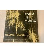 Vintage Rare Form in Music Helmut Blume Double Record Album Vinyl LP Ver... - $14.84