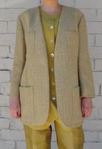 Giorgio Armani Le Collezioni Herringbone Wool Blazer Jacket 42 8 Italy W... - $168.25