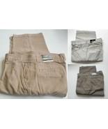 Redhead Men's Classic Cargo Pants Stone Khaki  Olive 6 pockets    34x32    - $19.35