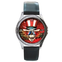 Grateful Dead Unisex Round Metal Watch Gift mod... - $13.99