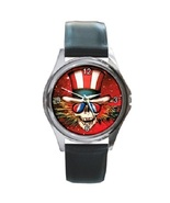 Grateful Dead Unisex Round Metal Watch Gift model 17626784 - $13.99