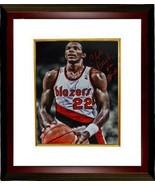 Clyde Drexler signed Portland Trail Blazers 16x20 Photo Custom Framed HO... - $169.95