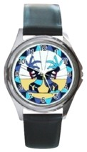 Kokopelli Unisex Round Metal Watch Gift model 36408022 - $13.99