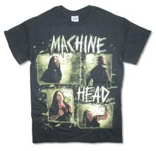 Machine Head-Rectangle Band Photo-Black T-shirt - $19.99