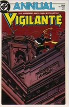 Vigilante Annual 1 [Comic] by DC - $6.99