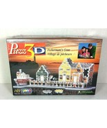 Wrebbit Puzz-3D FISHERMAN'S COVE Factory Sealed Jigsaw Puzzle- 169 Pieces - $29.09