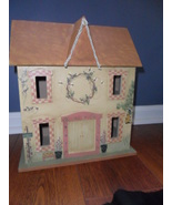 Hand Painted Wooden House - $32.95