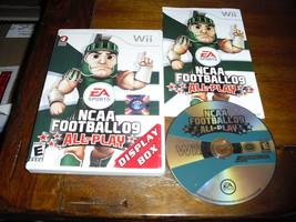 NCAA Football 09: All-Play (Nintendo Wii, 2008) - $9.89