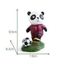 Panda Playing Football Mini Panda Puppet Home Decoration Kids' Gift(Port... - $22.99