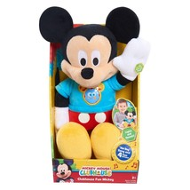 "Mickey Mouse Clubhouse Fun Mickey 11"" Plush NEW IN BOX - $23.99"