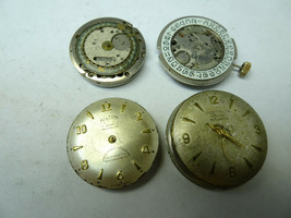 4 vintage STOWA HILTON UT-26 CASINO automatic watch movements for repair... - $188.67