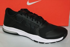 NIKE ZOOM TRAIN COMPLETE MEN'S TRAINING SHOE, BLK/WHITE, SIZE 9 & 10... - $69.71