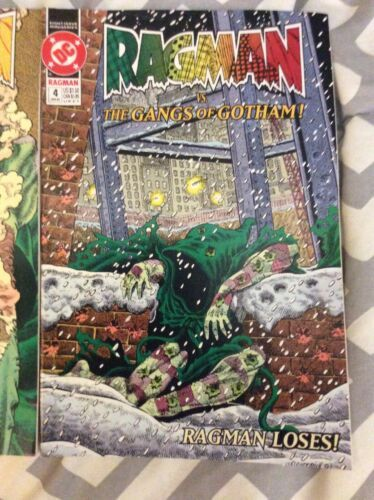 DC Ragman 2 & 4 Lot of 2 Comic Books 91-92 Vintage image 3
