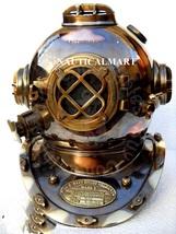 """NauticalMart 18"""" Antique Copper U S Navy Mark V Diving Divers Helmet - $299.00"""