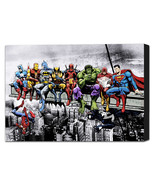 Sbreakfast of champions canvas wrap black border thumbtall