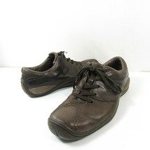 Merrell Oak Dark Brown Mens Size 8 Leather Casual Oxfords Shoes J43979 - $34.64