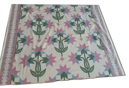 1992 Marti Mitchell Fabric Traditions Quilting, Faux Patchwork Cotton 1 ... - $13.57