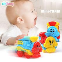 Kids Toy Diecast Friction Train Model Cute Toy Vehicles Lovely Expressio... - $6.06