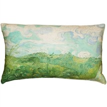 Pillow Decor - Van Gogh Green Wheat Fields Throw Pillow  - SKU: PD2-0067... - $34.95