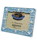 Montana Silversmith Rhinestone Photo Frame Blue 5x7 - $11.00