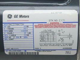 NEW GE MOTORS 5KC37NN73H ELECTRIC MOTOR 3/4HP, 3450RPM, 115/230V, 60HZ image 5