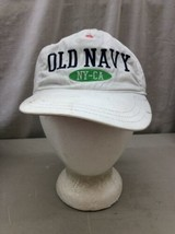 Trucker Hat Baseball Cap Vintage OLD NAVY NY CA KIDs L/G/G White fitted ... - $39.99